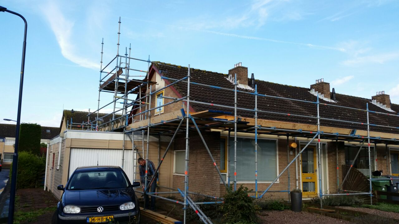 Renovatiesteigers Harlingen