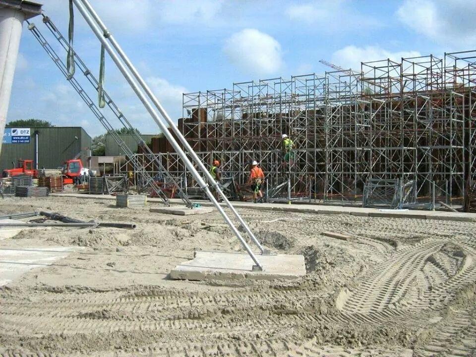 Ondersteuning Noordzeebrug Groningen