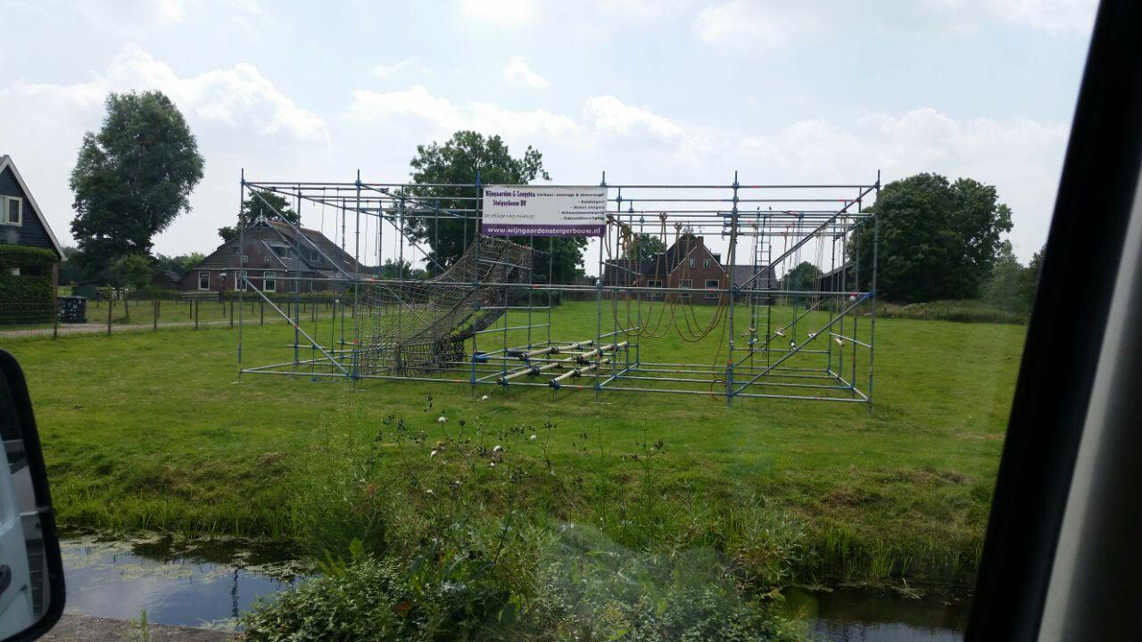 Sponsoring steigermateriaal Lodenhel Run Veenwoudsterwal