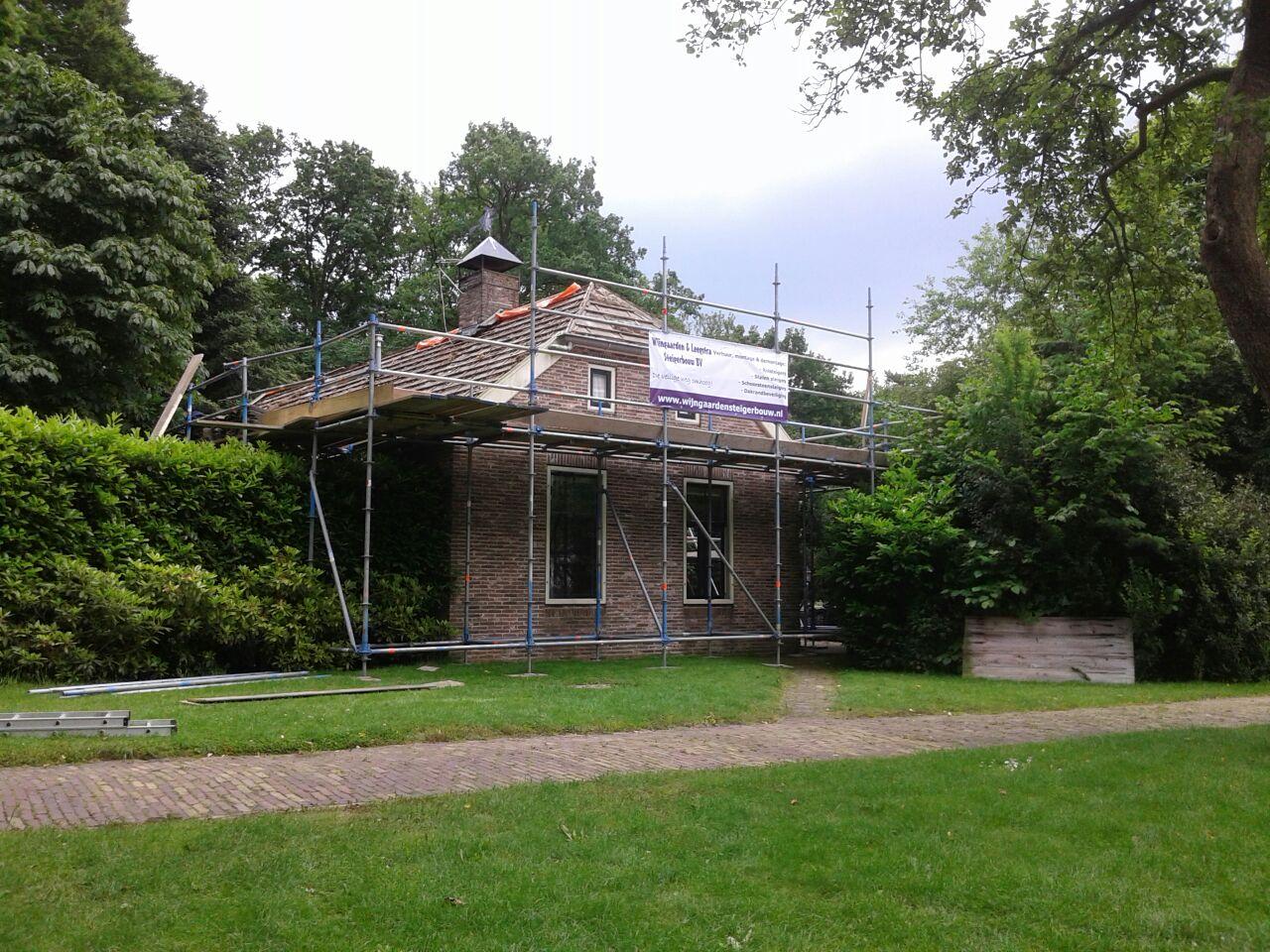 Renovatie steiger Oosterwolde
