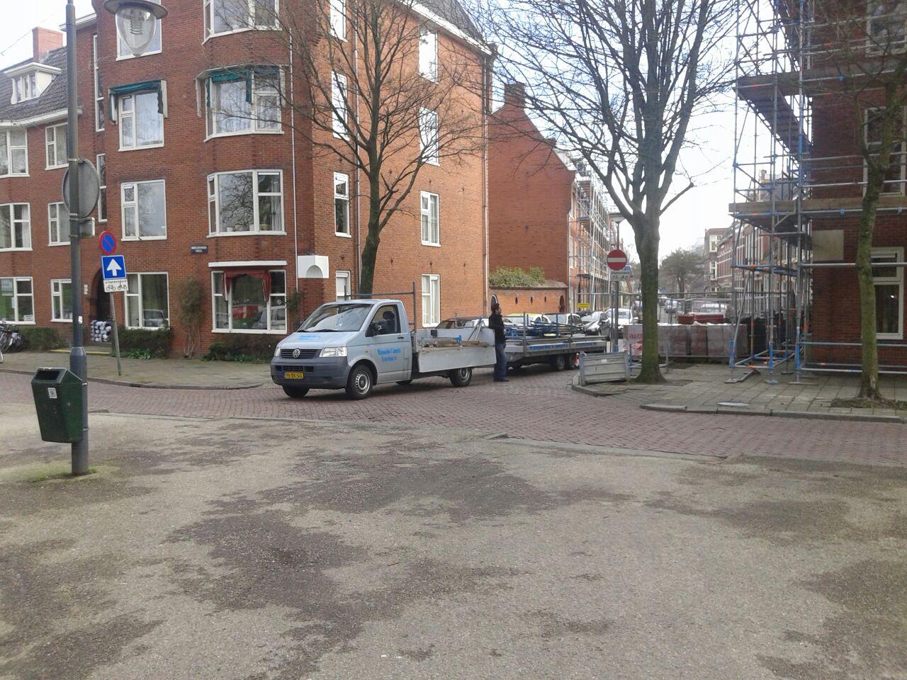 Renovatiesteiger Groningen